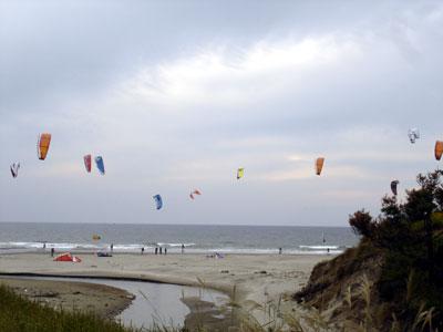 浜野のカイト風景