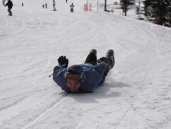 スノボーの滑り方