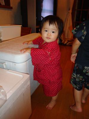 10ヶ月になった娘