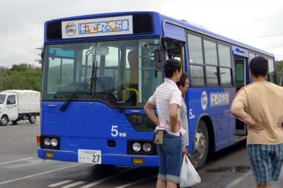 はいむるぶしのバス