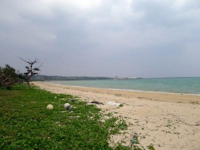 朝一のやらますビーチ