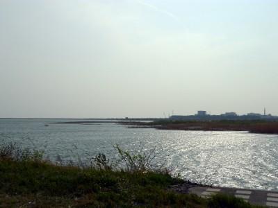 天竜川の東側